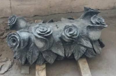 Розы из гранита