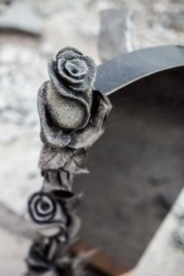 Роза из габбро-диабаза