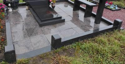 Цоколь на могилу